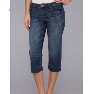 Kut from the kloth Natalie cropped jeans size 8